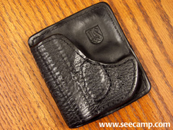 Aker Pocket Express Holster - Sharkskin